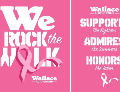 Automotive Dealership Breast Cancer Walk T-Shirt Design