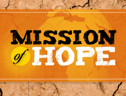 Mission Of Hope Logo and Infographic